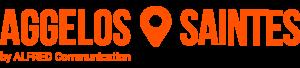 saintes aggelos maquette communication design logo